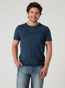T-Shirt aus Bio Baumwolle mit Allover-Print - ORGANICATION