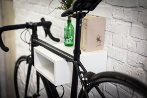 Fahrrad Wandhalterung 'OSKAR' aus nachhaltigem Holz - Bicycledudes
