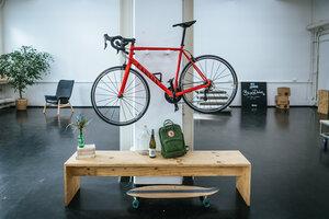 Fahrrad Wandhalterung 'MAX' aus nachhaltigem Holz - Bicycledudes