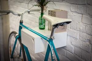 Fahrrad Wandhalterung 'CLEMENS' aus nachhaltigem Holz - Bicycledudes