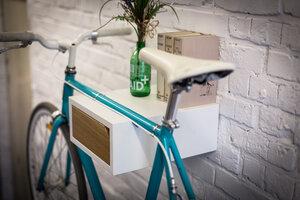 Fahrrad Wandhalterung 'FRITZ' aus nachhaltigem Holz - Bicycledudes