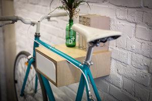 Fahrrad Wandhalterung 'JAKOB' aus nachhaltigem Holz - Bicycledudes