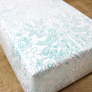 Geschenkpapier Strawberry Field - Bow & Hummingbird