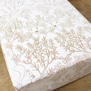 Geschenkpapier Deep Forest - Bow & Hummingbird