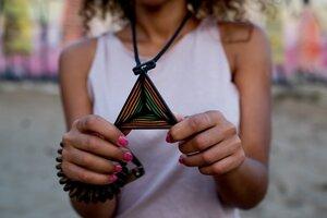 Halskette Ethno Love Triple - KOKOworld