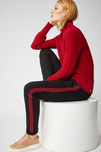 JOGGPANT mit Streifen aus Bio-Baumwolle GOTS - Lanius