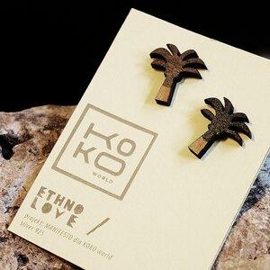 Ohrringe Ethno Love Palms - KOKOworld